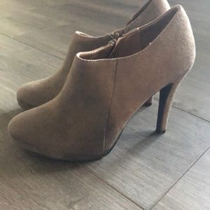 Merona Taupe Ankle Booties
